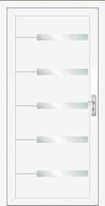 inox ajtópanel